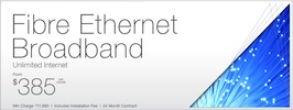Fibre Ethernet Broadband
